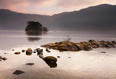 Lomond island Royalty Free Stock Photos
