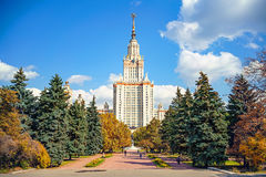 lomonosov Moscow stan uniwersytet Zdjęcie Royalty Free