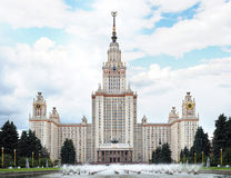 Lomonosov Moscow State University Royalty Free Stock Image