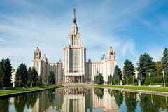 Lomonosov Moscow State University at summer, Moscow, Russia Stock Photography