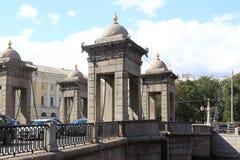 Lomonosov Most St Petersburg Obraz Stock