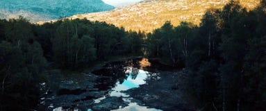 Lomsdal-Visten国立公园是挪威国立公园 库存照片