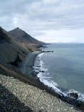Lon Beach, Islande Image stock