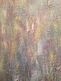 Lona acrílica pintado à mão abstrata em cores marrons cinzentas fotos de stock royalty free