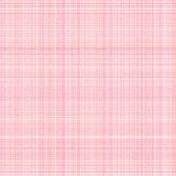 Lona branca e cor-de-rosa Imagens de Stock Royalty Free