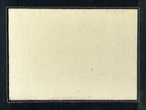 Lona con la tira de cuero y la costura Fotos de archivo libres de regalías