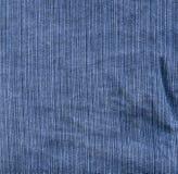 Lona de Jean azul Fotografía de archivo libre de regalías