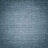 Lona de lino azul La imagen de fondo, textura fotografía de archivo