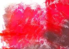 Lona do vermelho de Grunge Foto de Stock
