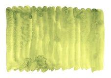 Lona dourada do verde-lima ilustração royalty free