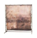 Lona en blanco sucia Fotografía de archivo libre de regalías