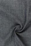Lona gris con la trenza Imagen de archivo