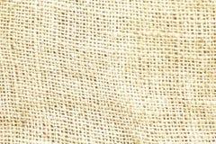 Lona marrom natural do pano de saco textured para o fundo Imagem de Stock