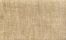 Lona natural, lona de lino. Imagen de archivo