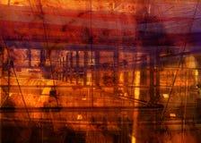 Lona oscura de la estructura de Grunge Fotos de archivo libres de regalías