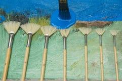 Lona pintada Foto de Stock