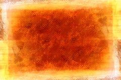 Lona pintada alaranjada de Grunge ilustração royalty free