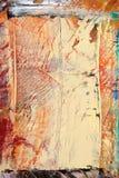 Lona pintada como fondo. Imagenes de archivo