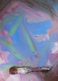 Lona pintada como fondo foto de archivo libre de regalías