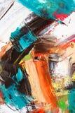 Lona pintada como fondo. Foto de archivo libre de regalías