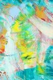 Lona pintada como fondo fotografía de archivo