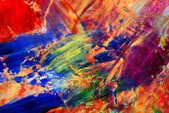 Lona pintada como o fundo Imagem de Stock