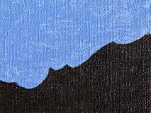 Lona pintada en dos colores como el fondo ilustración del vector