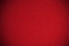 Lona roja Imagen de archivo