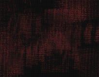 Lona vermelha e preta Fotos de Stock