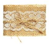 Lona y cordón Imagen de archivo libre de regalías