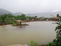Dino Land India stock photo