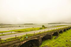 Lonavala at its best view during monsoon Stock Photo