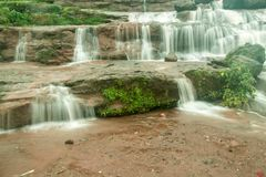 Waterfall at Lonavala and its best view during monsoon Royalty Free Stock Photos