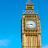 lond on big ben and historical old construction england city Stock Photos