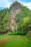 Londa is cliffs and cave burial site in Tana Toraja, South Sulaw Stock Images