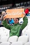 Londen 2012: De sponsor van het visum Stock Afbeeldingen