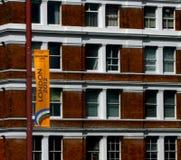 Londen 2012 de Vlag van Olympische Spelen Royalty-vrije Stock Fotografie
