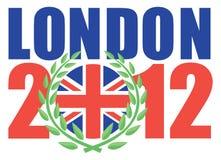 Londen 2012 Olympische spelen Stock Fotografie