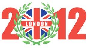 Londen 2012 Olympische spelen Stock Afbeelding