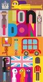 Londen stock illustratie