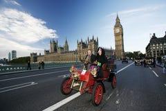2014, Londen aan Brighton Veteran Car Run Stock Fotografie