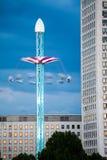 Londen bij dageraad Mening van Gouden jubileumbrug Stock Afbeeldingen
