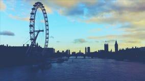 Londen bij nacht Royalty-vrije Stock Fotografie