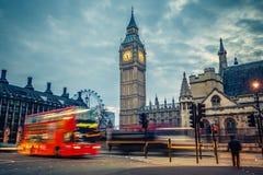 Londen bij vroege ochtend Royalty-vrije Stock Afbeeldingen