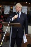 Londen Burgemeester Boris Johnson Stock Afbeelding