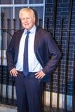 Londen Burgemeester Boris Johnson in Mevrouw Tussaud-wasmuseum Londen het UK Stock Afbeelding