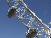 Londen: Close-up van het Oog van Londen Stock Foto