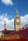 Londen. De Big Ben Stock Foto's