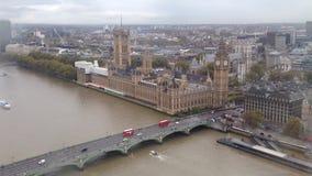 Londen de Big Ben stock videobeelden