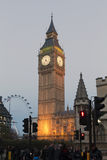 Londen de Big Ben Royalty-vrije Stock Foto